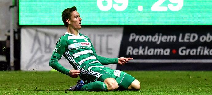 Jan Vodháněl po pár sekundách na hřišti rozhodl derby o Vršovice