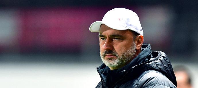 Slávistický trenér Jindřich Trpišovský zažil první ligovou prohru v sezoně
