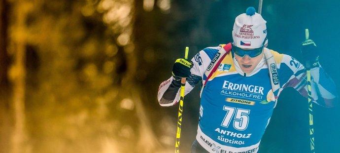 V závodě na 20 kilometrů skončil Michal Krčmář za elitní dvacítkou