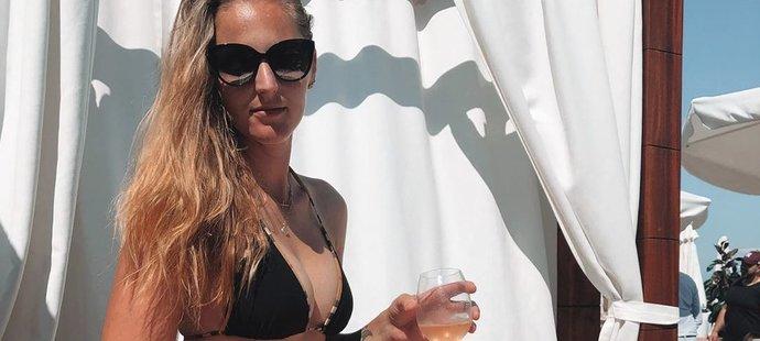 Šarmantní česká tenistka Kristýna Plíšková