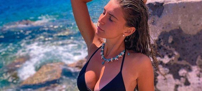 Tenisová kráska a účastnice Miss Italia 2019 Susanna Giovanardiová by to jednou ráda dotáhla až do hlavní soutěže grandslamu