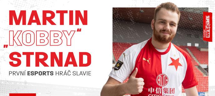 """Fotbalová Slavia vstupuje do esportu. Angažovala FIFA hráče """"Kobbycz"""""""