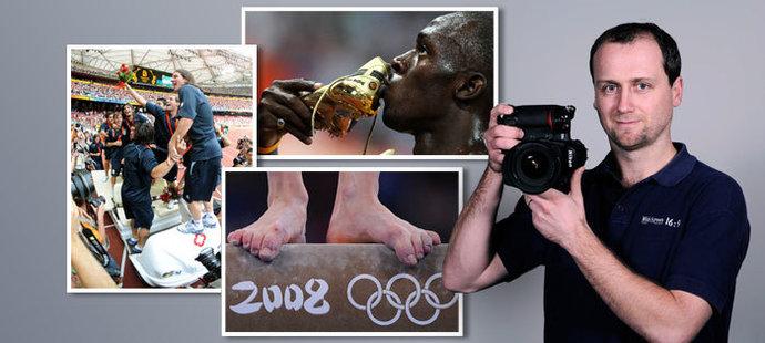 Jak viděl olympiádu v Pekingu fotograf deníku Sport Michal Beránek?