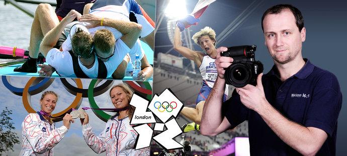 Snímky z olympiády v Londýně pohledem fotografa deníku Sport Michala Beránka