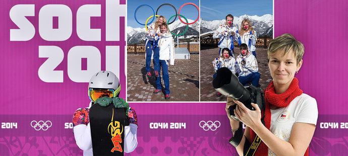 Olympiáda v Soči očima fotografky deníku Sport Barbory Reichové