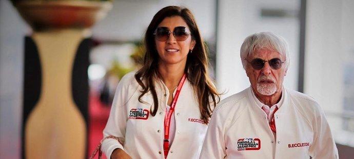 Třetí manželka někdejšího šéfa F1 Bernieho Ecclestonea Fabiana!