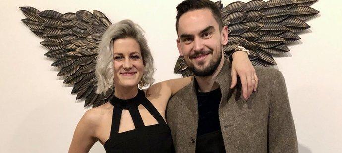 Tomáš Satoranský s manželkou Annou