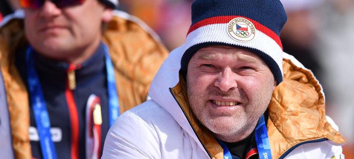 Pavel Kolář jako součást olympijské výpravy