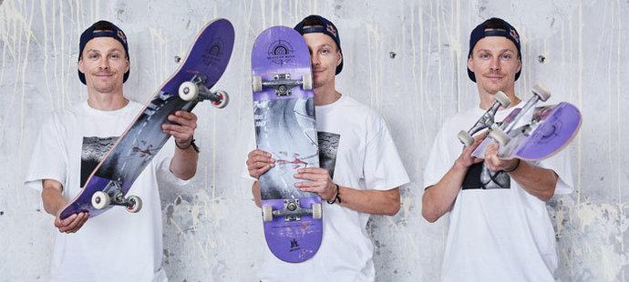 Maxim Habanec je nejúspěšnějším českým skateboardistou