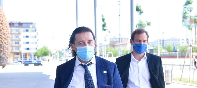 Šéf LFA Dušan Svoboda míří na Ligové grémium, kde se bude jednat o restartu soutěží