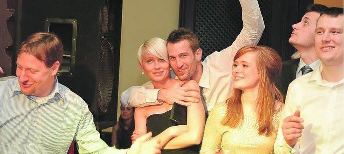 Radim Novák s manželkou Martinou, která pod srdcem nosí jeho syna!