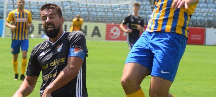 Milan Baroš se v tajném derby s Opavou vrátil do hry