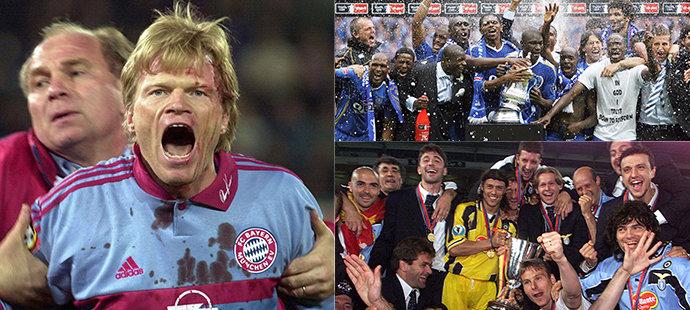 Podívejte se na zajímavé fotbalové fotografie z minulosti
