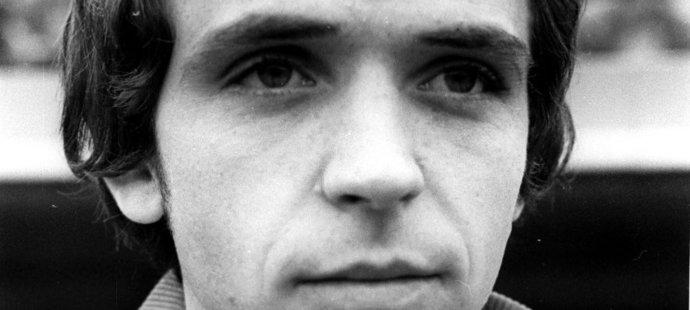 1976. Ladislav Vízek na začátku své ligové kariéry.