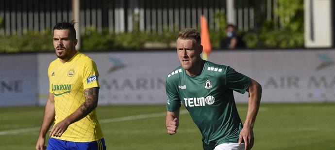 Tomáš Dočekal debutoval za Jablonec proti Zlínu, nahrávkou se podílel na jediném gólu duelu