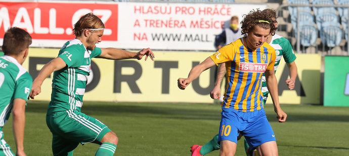 Pulkrab dal i jediný gól zápasu v Opavěě
