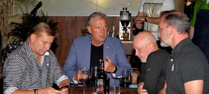 Horst Siegl, Jozef Chovanec, Ivan Hašek a Jaromír Blažek