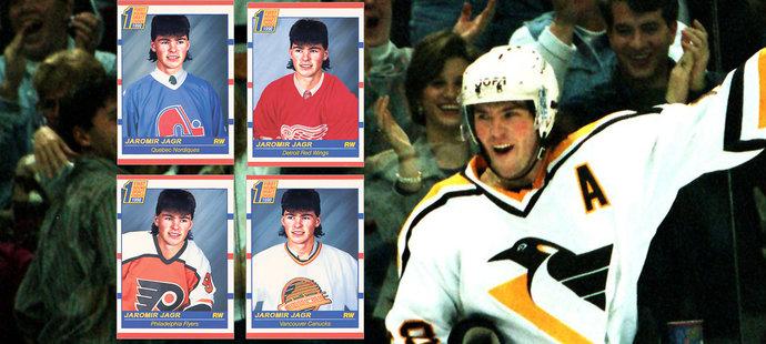 Oblíbenou kratochvílí expertů a fanoušků je tzv. re-draft, tedy hra na šéfy klubů NHL, kteří vybírají hokejisty po letech. Samozřejmě s tím, co nyní o bývalých či stále aktivních hráčích vědí. Jaromír Jágr by byl např. podle NHL.com vybrán na prvním místě.
