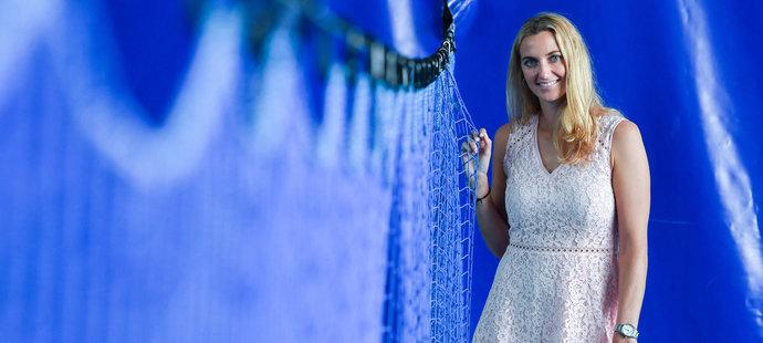Petru Kvitovou, třicetiletou tenisovou ranařku z Fulneku, žene vpřed ještě jeden velký cíl.