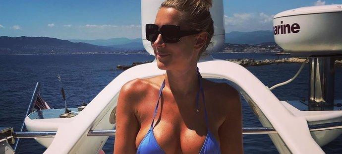 Hedvka Kollerová nabíjí baterky Cannes
