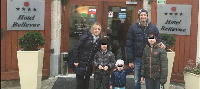 Rodinné foto Čišovských z roku 2016