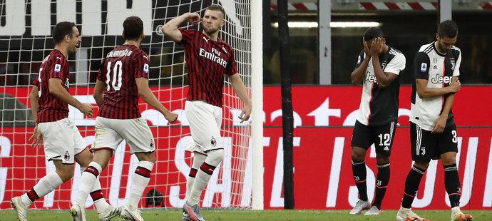 Ante Rebič dorazil Juventus gólem na 4:2