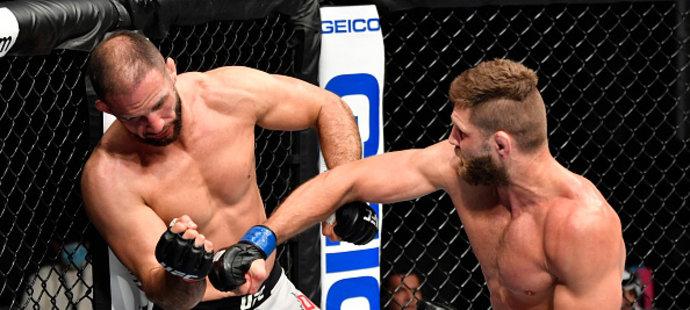 Rána, která Jiřímu Procházkovi zajistila první vítězství v UFC