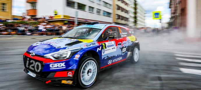 Rallye Bohemia ovládl Václav Pech