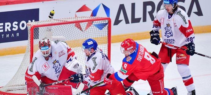 Rusko je nejméně oblíbeným soupeřem českých hokejistů