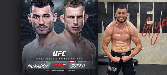 Muradov zná soupeře v UFC: Chci vyhrát pro dceru! Fandí i Mayweather