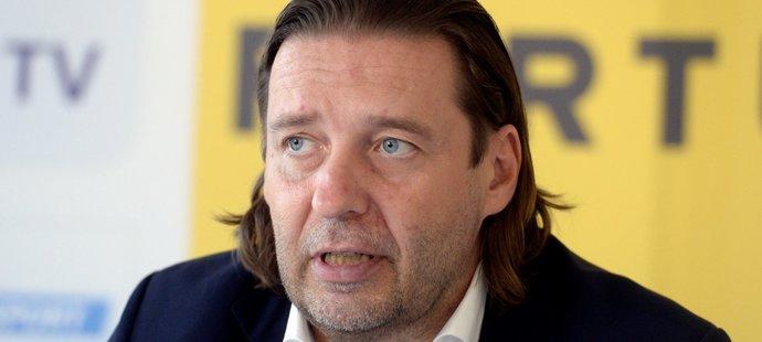 Šéf Ligové fotbalové asociace (LFA) Dušan Svoboda