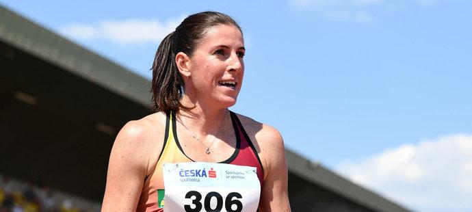 Zuzana Hejnová běžela 400metrovou trať poprvé po deseti měsících