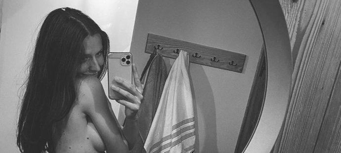 K této fotce Tereza napsala ódu na své tělo
