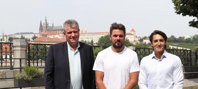 Stan Wawrinka dorazil restartovat sezonu do Prahy