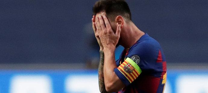 Lionel Messi nechápal, co se na hřišti děje