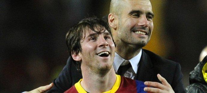 Navážou Pep Guardiola a Lionel Messi na úspěšnou spolupráci?