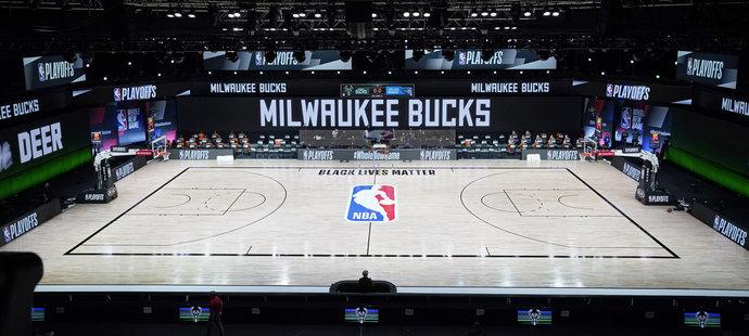 Milwaukee Bucks kvůli násilí bojkotují play off NBA
