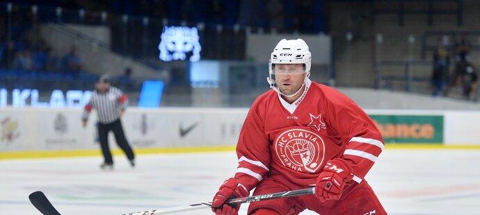 Hokejový veterán Jaroslav Bednář má vnitřní hlas, který mu radí, kdy má skončit s hokejem. Zatím stále mlčí