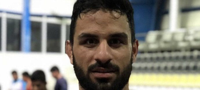 Íránský zápasník Navid Afkari