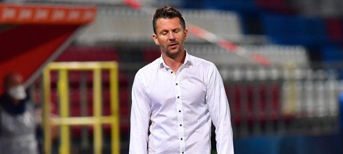 Trenér David Holoubek po skotském gólu