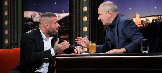 Karlos Vémola a Jan Kraus se bavili o tom, co všechno zápasníka potkalo v poslední době