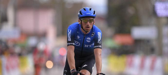 Český jezdec Roman Kreuziger v dresu stáje NTT Pro Cycling, za kterou závodí v roce 2020 i na Tour de France