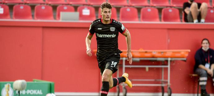 Patrik Schick se trefil hned ve svém prvním utkání za Leverkusen. Pečetil výhru 7:0 v poháru nad Eintrachtem Norderstedt, týmem ze čtvrté ligy