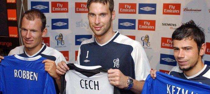 Do Chelsea přišel Mateja Kežman v létě 2004 společně s Arjenem Robbenem a Petrem Čechem