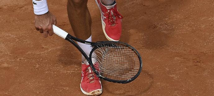 Po fiasku na US Open se Novak Djokovič dopustil dalšího extempore i v Římě