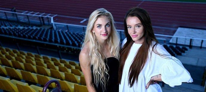 Atletky Nikoleta Jíchová a Nikola Bendová pro deník Sport a web iSport.cz poprvé absolvovaly společně profesionální focení