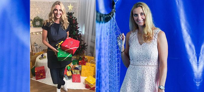 Načančaná tenisová hvězda Kvitová: Mrkejte, už mám Vánoce!