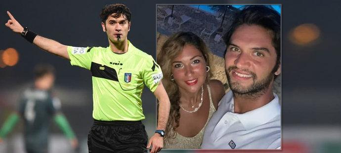 Ohavný čin: Fotbalového rozhodčího (†33) i s přítelkyní (†30) ubodali!