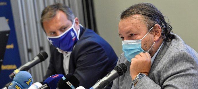 Šéf extraligy Josef Řezníček pochválil kluby za dosavadní přístup k opatřením