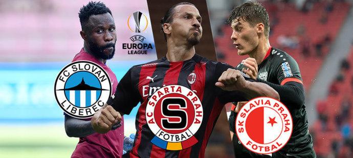 Evropská liga v TV: kde sledovat zápasy Sparty, Slavie a Liberce?